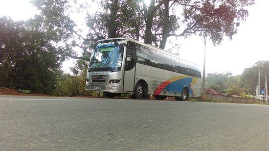 Nuwara Eliya, Sri Lanka: Colombo to nuwaraeliya daily bus service.. departure from Colombo 11am