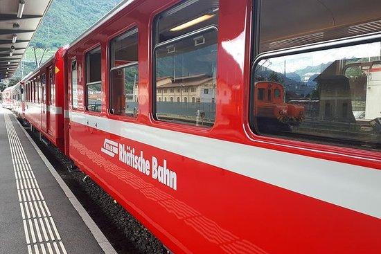 Reis naar Bernina Express. Dag Tour