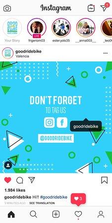 Valencia, İspanya: Tag us @goodridebike