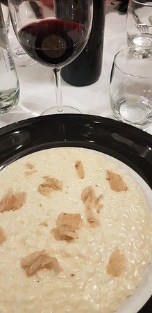 Risotto con tartufo bianco