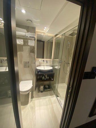 Clubroom bathroom