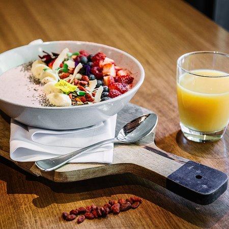 Breakfast at Jasper Hotel