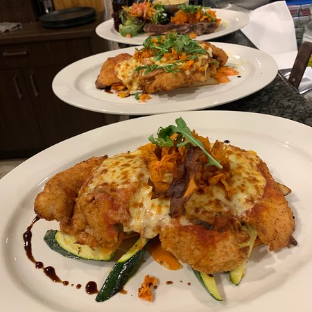 Our large and tasty chicken parmigiana