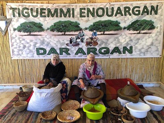 Agafay Desert & Berber villages & Atlas Mountains, Full Day Trip From Marrakech: Argan oil Cooperative
