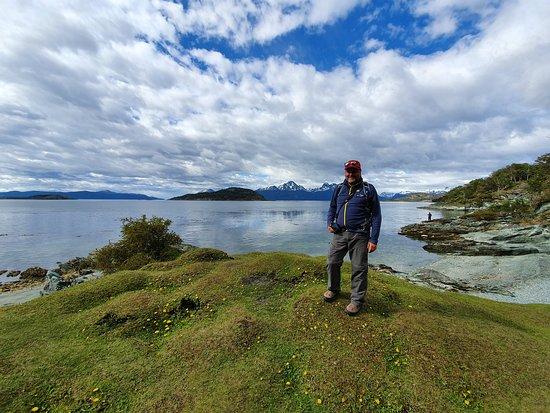 Tierra del Fuego National Park, Argentina: Rest stop on a leisurely hike in Tierra del Fuego