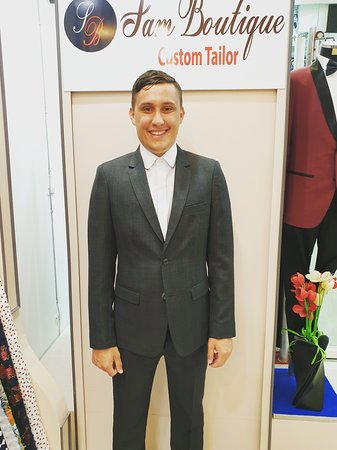Best and happy customer from Uk. Custom suit and shirt exclusively made @Samboutiquetailors. Feel free to contact us at any time on the working hours from 9 am to 10 pm. DM on Whatsapp at +66896050788. Book your schedule now.