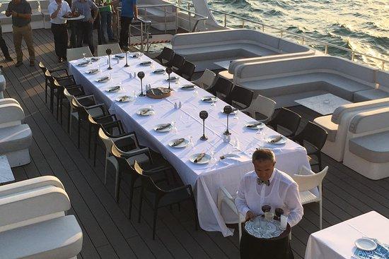 Okyanus bosphorus dinner boats