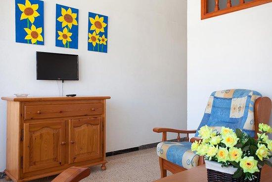 Playa del Inglés, Espagne : Salón/Living-room