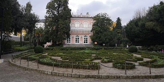 la villa sede dell'ente del turismo, bellissima da visitare