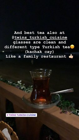 Here is the best Turkish food ever in muscat! Servants are kind clean fast! they are fallowing you kindly if you need anything you can find around people! Restaurant it self it's clean I like this point why ? We can eat everything at home but sometimes if you feel to eat outside you can choose here because it's clean and food tasty and prices reasonable 😊