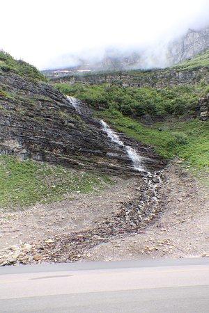 A small waterfall!