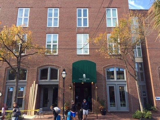 Church Street Inn entrance