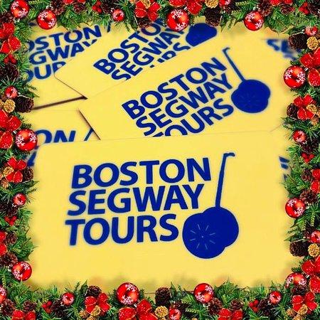 Stumped on the perfect#giftthis#holiday#season? Look no further… It's#TripAdvisor's #1 Tour -#Boston#Segway#Tours#Gift#Cards🎄www.bostonsegwaytoursinc.com/gift