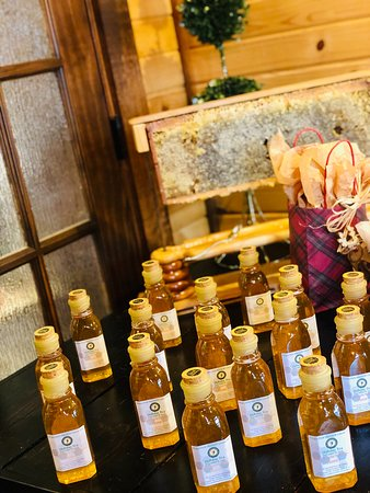 Franklin Grove, IL: Honey from our bees available in our artisan curated shop