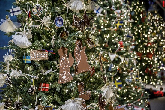 """Knights of Columbus Museum: Vote for the """"People's Choice"""" tree while here"""