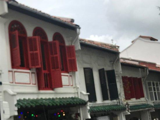دوكستون هيل: Shophouse frontage