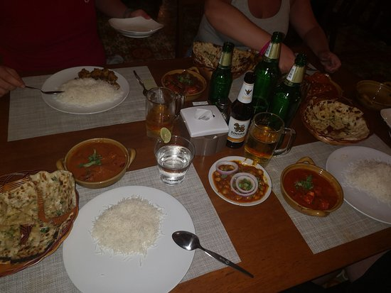 Awesome Indian food and really good service