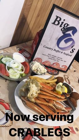 ORDER CRABLEGS BY THE POUND!