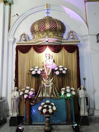 The Alter of the patron, Immaculate Consumption of Mary