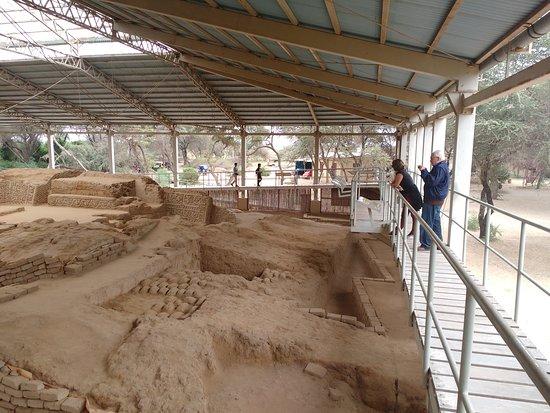 Huaca Las Balsas en Las Pirámides de Tucume