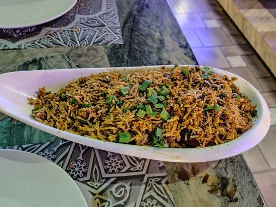 Murg Kepsa Chilly Rice