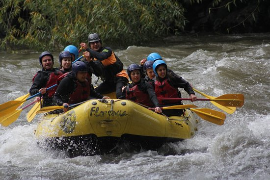 Chile: Rafting Pucón 2019.