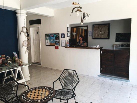 Lobby Wabi Hotel Playa del Carmen