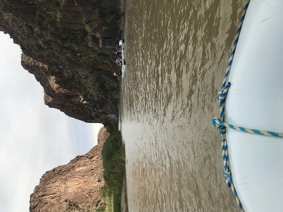 Cruising through Colorado Canyon