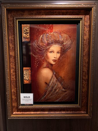 Another relative newcomer who fancies himself a modern-day renaissance artist: Csaba Markus. His style is not dissimilar to DaVinci's Mona Lisa.