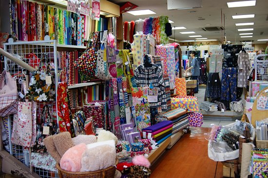 It is a state in the store. We have a lot of cotton fabrics.