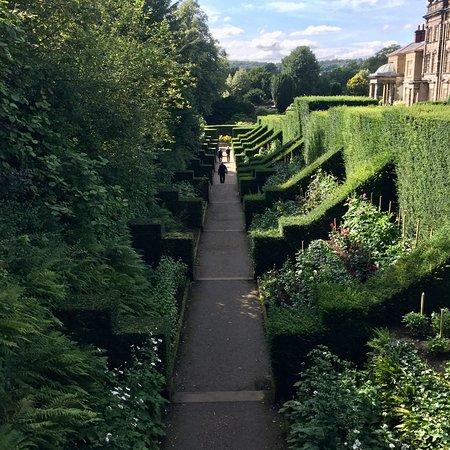 Biddulph Grange Garden: The Dahlia Walk