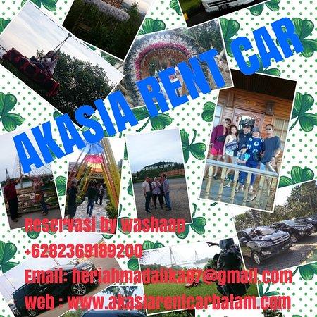 Akasia rent car batam  Menyediakan berbagai jenis mobil untuk rental include driver  Reservasi Wathsapp: +6282369189200 Email: heriahmadalika87@gmail.com Web: www.akasiarentcarbatam.com
