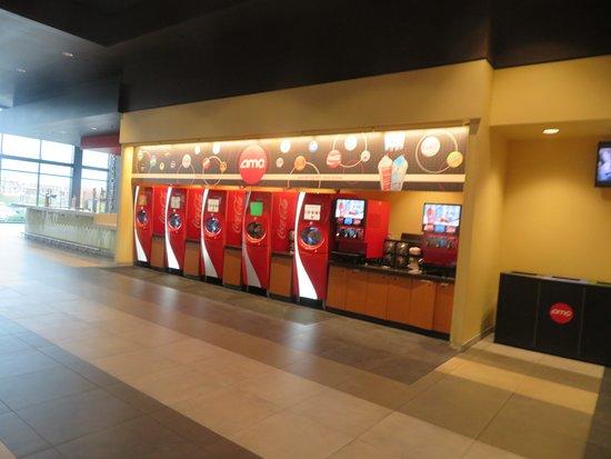 Beverage Area, AMC NewPark 12, Newark, CA
