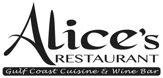 Alice's Gulf Coast Cuisine & Wine Bar 1504 West Intendencia Street 850)332-5372 Parking is in the rear of the building off of H Street Hours are subject to change: Please call ahead for dining after 9pm Monday - Thursday We will be closed January 1st - 5th Reservations are highly recommended