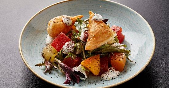 Compressed Melon Salad