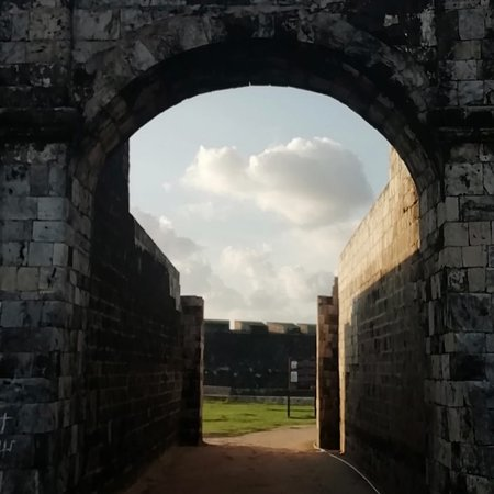 #jaffnafort 1st constructed by the #Portuguese in 1619 and was expanded following the #Dutch capturing the #fort in 1858 into the Pentagon shaped fort we see today.  You can book #toursofjaffna or wider Sri Lanka through #rhtoursandtravelsjaffna by contacting us on +94770207589, rnthas@gmail.com or via FB at @#rhtoursandtravelsjaffna.