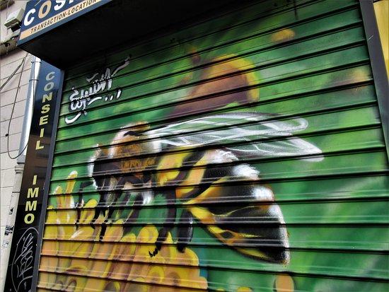 "Fresque ""L'abeille"""