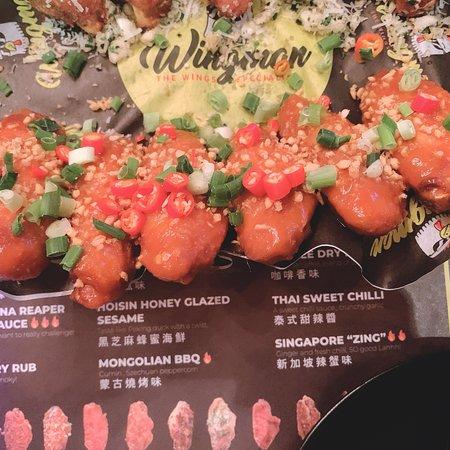 新加坡辣蟹味鷄翼