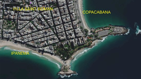400 m from Ipanema and Copacabana