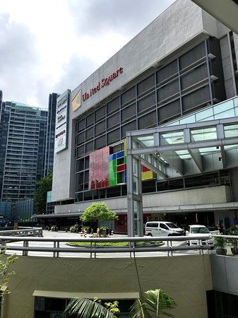 United Square Shopping Mall - outside