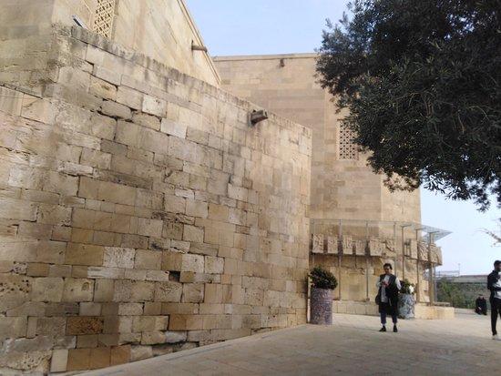 Backside of the palace