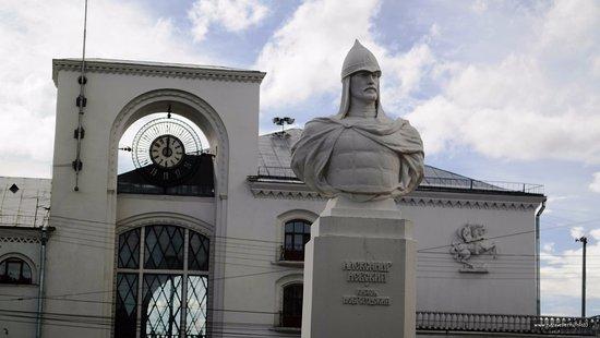 Князь Александр Невский в Новгороде