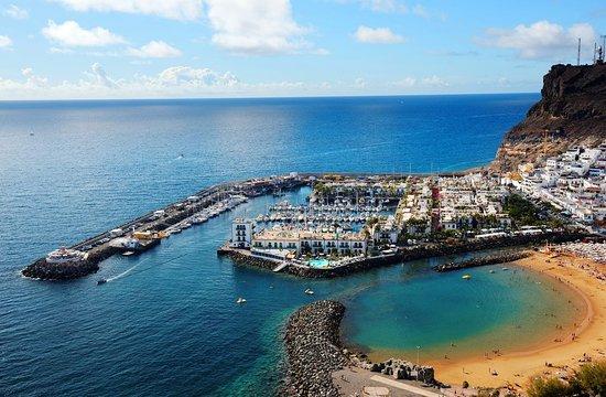 Puerto de Mogán, Spanien: Puerto the Mogan, our house reef