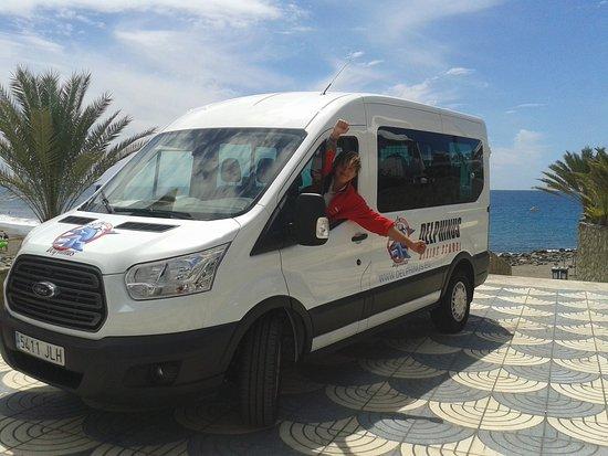 Puerto de Mogán, Spanien: Happy to go diving!