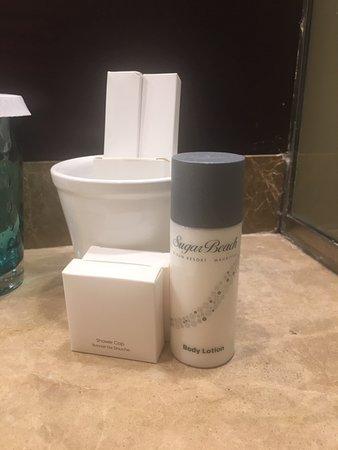 Complimentary Toiletries.
