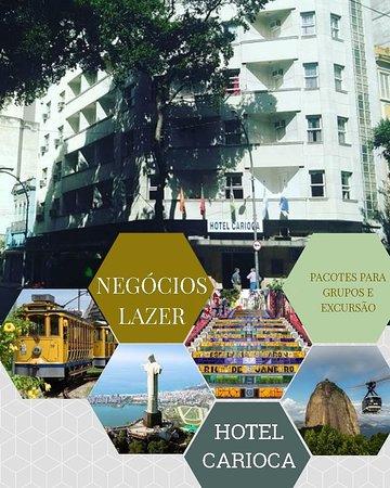 Centro : Tradicional, preço excelente,higiene 100% e um excelente café da manha. Whatsapp:  Hotel Carioca  21-97188-3425 Telefone fixo : 21-2224-2158/ 2509-0927/ 2232-5273