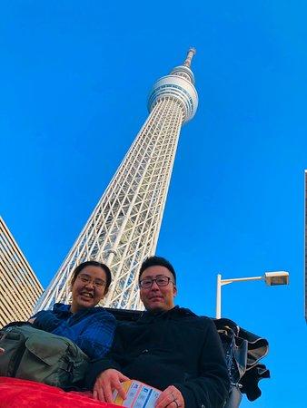 阿部さんにお声かけいただき、人力車に初乗車でした!  嫁の誕生日に最高の笑いを、そして思い出をありがとうございました!