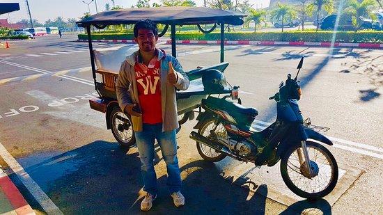 I'm Taxi tuktuk driver in Cambodia professional please Contact me: WhatsAp: +855963388784
