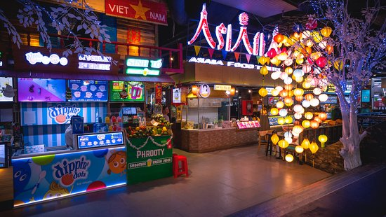 Asiana Food Town interior photo