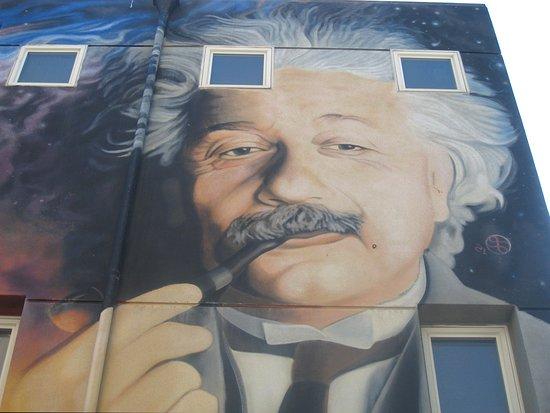 Relativity genius and Nobel Laureate